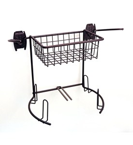 Golf Storage Rack and Basket Image