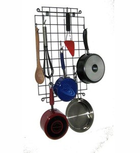 Grid Wall-Mounted Pot Hanger Image