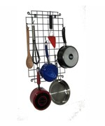 Grid Wall-Mounted Pot Hanger