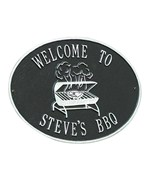Hawthorne Personalized Grill Plaque