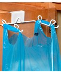 Grocery Bag Holder - Over the Cabinet Door