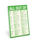 Grocery List - All Out Of
