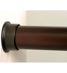 Custom Size Closet Rod - Oil Rubbed Bronze Image