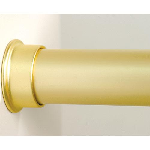 Custom Size Closet Rod   Brushed Gold Image