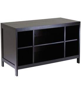 Hailey Flat Panel TV Stand - Espresso Image