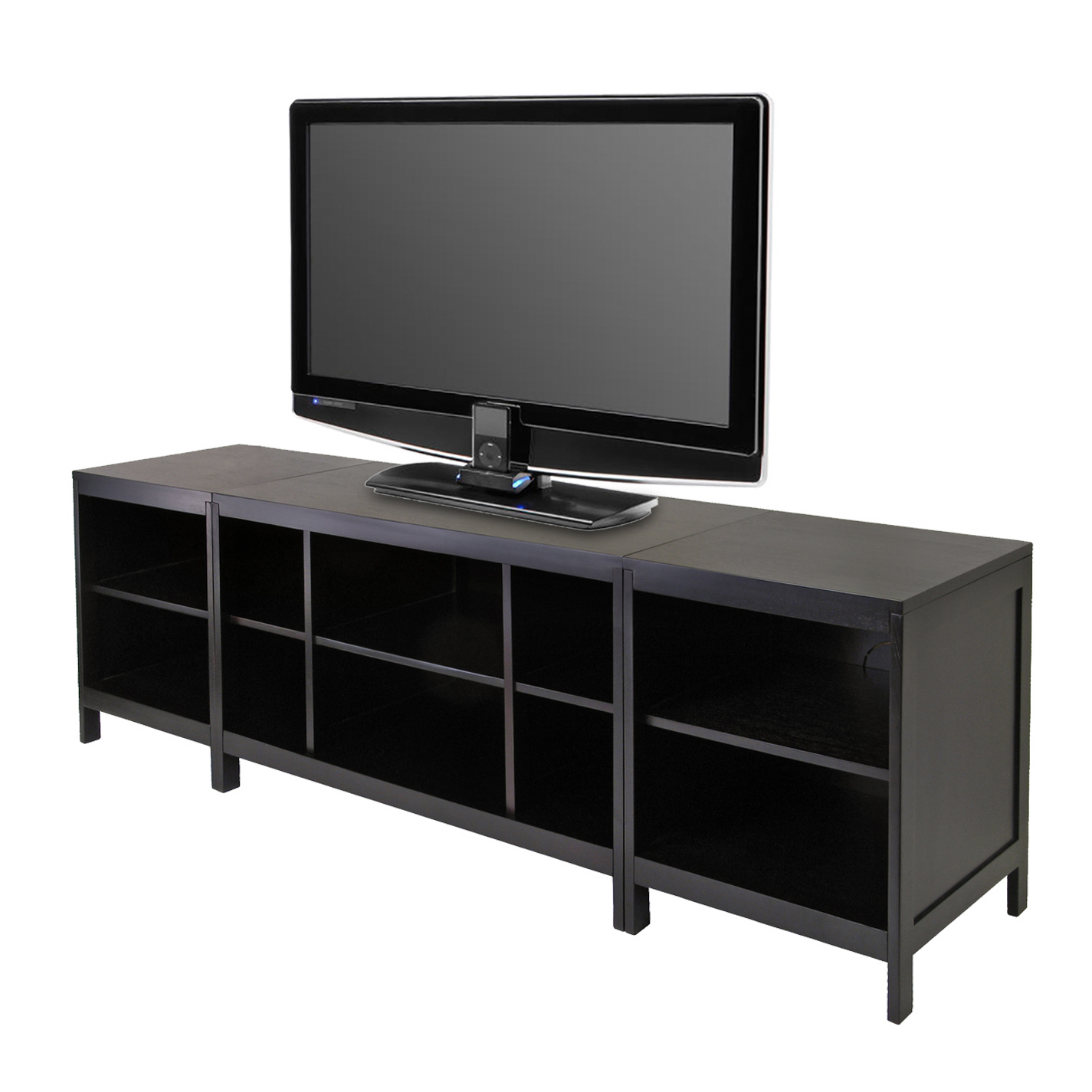 Hailey Tv Media Stand 3 Piece Set In Tv Stands
