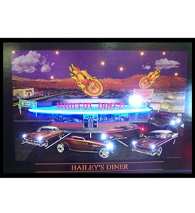 Hailey's Diner Neon / LED Picture by Neonetics Image