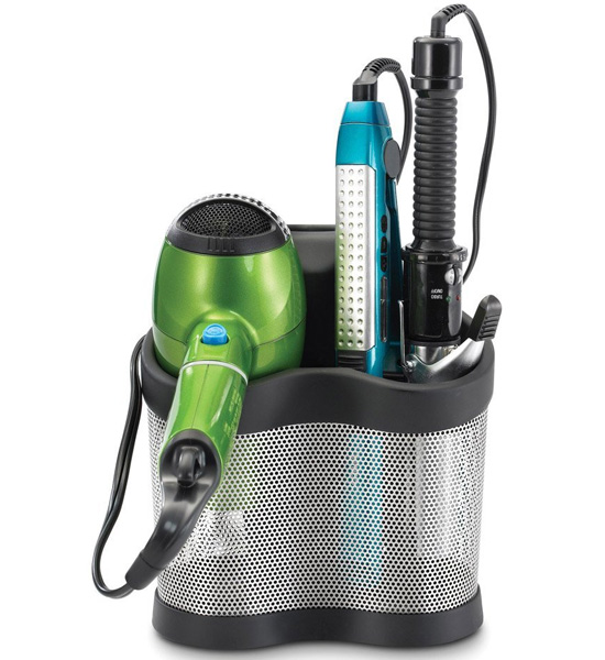 Hair Styling Station in Hair Dryer Holders