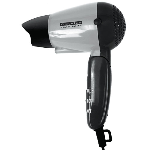 Travel Hair Dryer with Dual Voltage Image