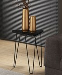 Hairpin Leg End Table