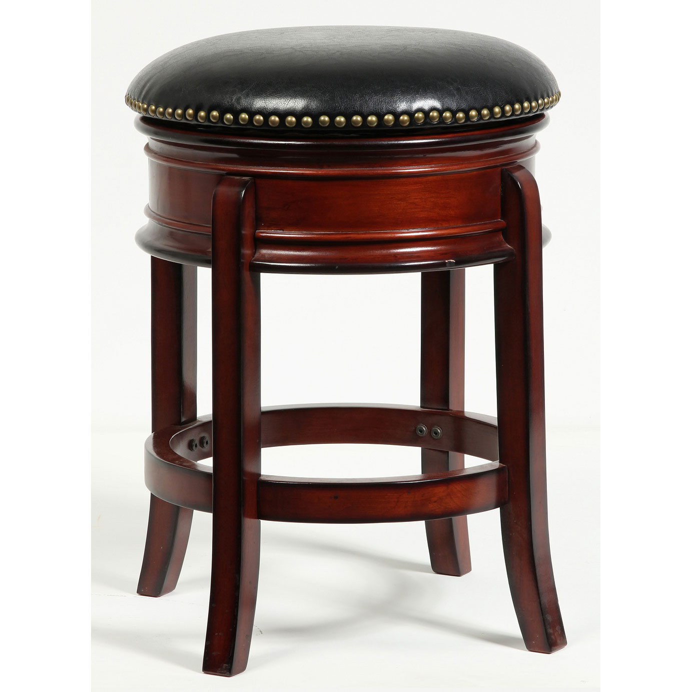 Hamilton inch swivel stool by boraam industries in wood