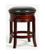 Hamilton 24 Inch Swivel Stool by Boraam Industries
