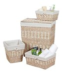 Hamper and Basket Set - Rush and Maize
