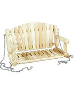 Hanging Cedar Porch Swing