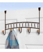 Hanging Coat Rack - Bronze