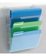 Hanging File Holder - Clear