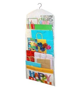 Hanging Gift Bag Organizer In Gift Wrap Organizers
