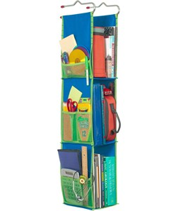 Hanging Locker Organizer - Blue Image