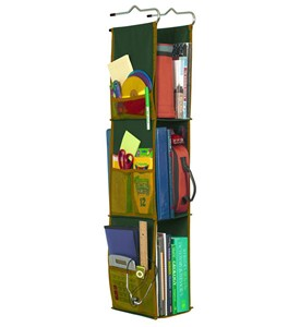 Hanging Locker Shelves - Green Image