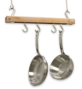 Hanging Pot Rack - Natural Image