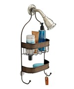 Hanging Shower Caddy - Bronze