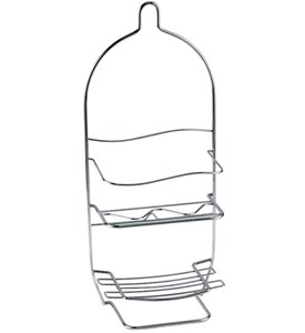 Hanging Shower Caddy - Chrome Image