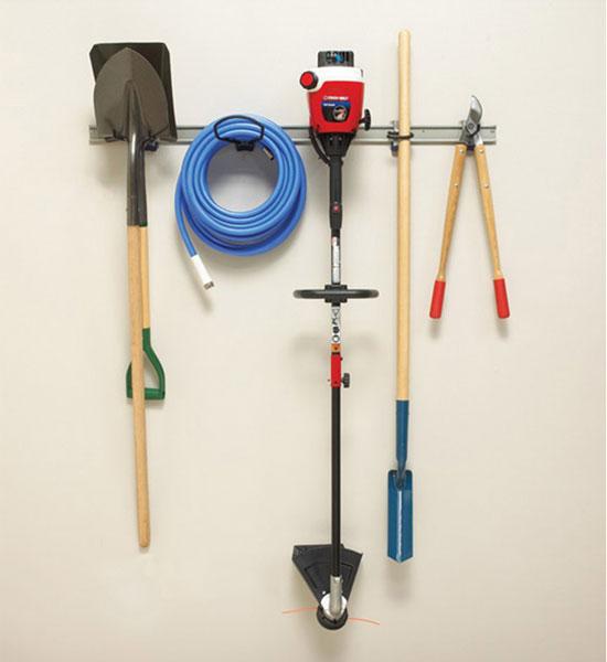 Hanging Tool Organizer In Garden Tool Storage
