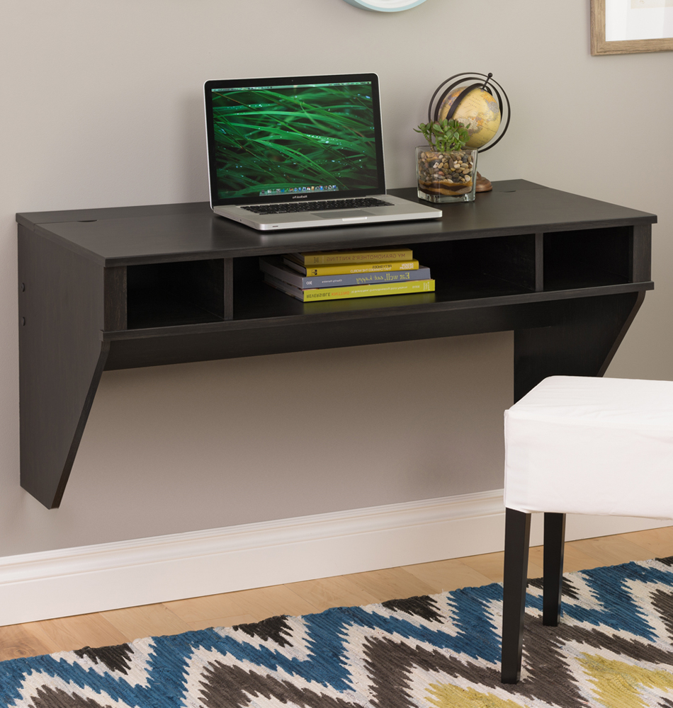 home office office furniture desks and hutches floating wall desk