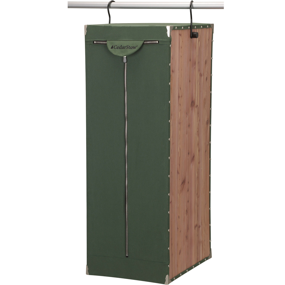 hanging wardrobe cedarstow in garment bags. Black Bedroom Furniture Sets. Home Design Ideas
