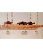 Hanging Wine and Stemware Rack