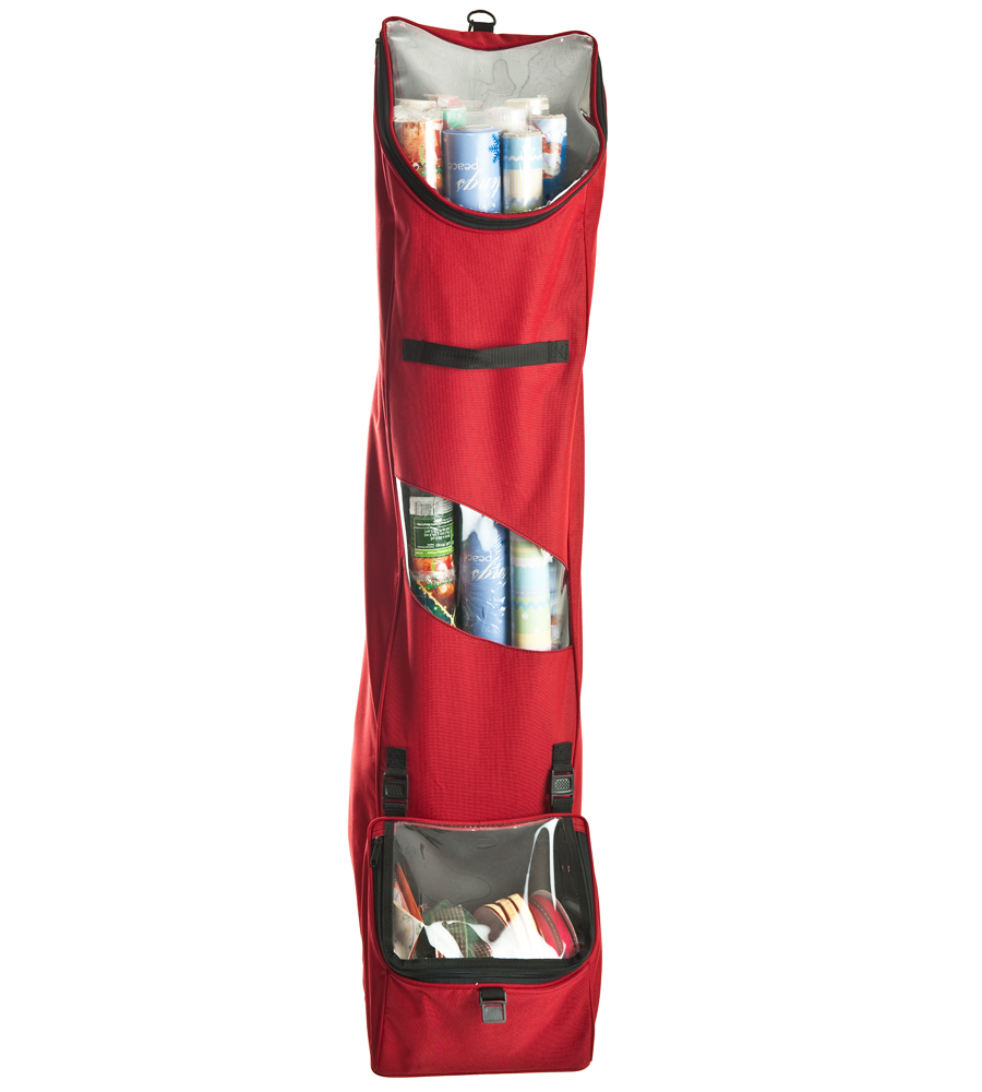 Hanging Wrapping Paper Storage Bag Image