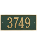 Hartford Estate Wall Address Plaque