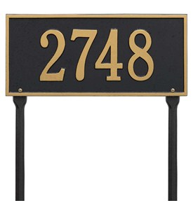 Hartford Standard Lawn Address Sign Image
