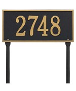 Hartford Standard Lawn Address Sign