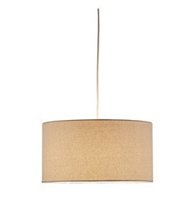 Harvest Natural Drum Pendant Lamp by Adesso Image