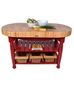 Harvest Table Kitchen Island