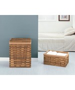 Havana Collection Hamper with Laundry Basket by Neu Home