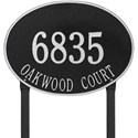 Hawthorne Estate Lawn Address Plaque