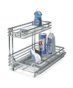Under Sink Sliding Cabinet Organizer