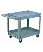 Heavy Duty 2-Shelf Utility Cart by Edsal