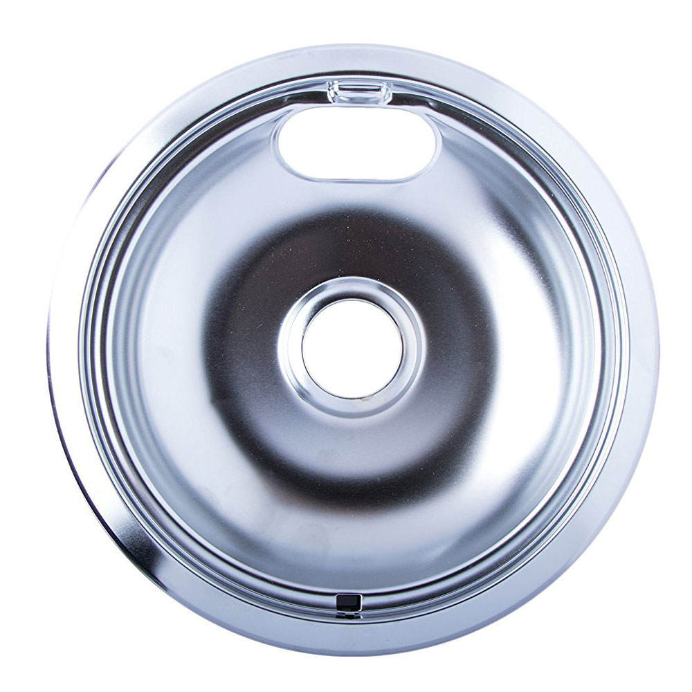 Heavy Duty 7 5 Inch Chrome Drip Pan In Stove Top Accessories