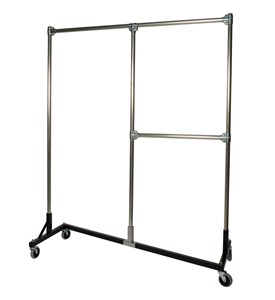 Heavy Duty Garment Rack - Split Rail Image