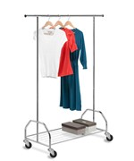 Heavy Duty Garment Rack with Shelf