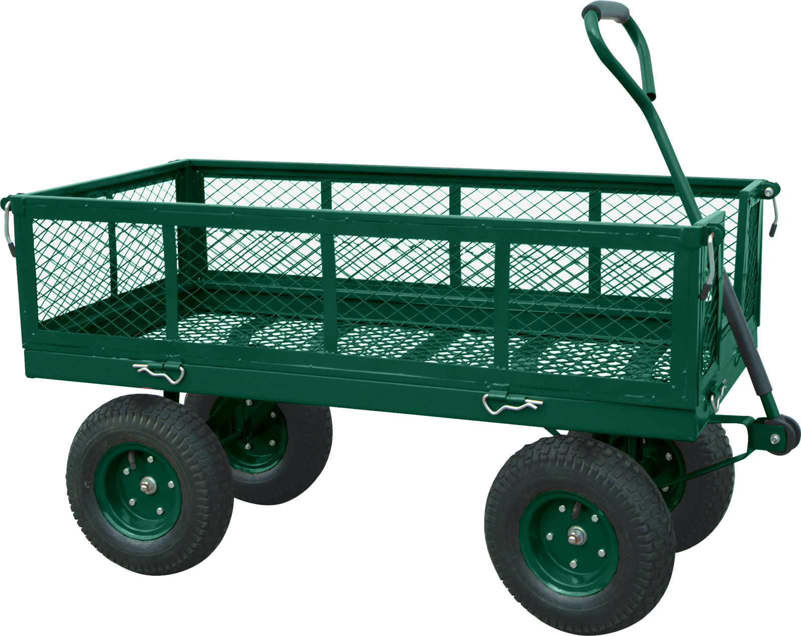 Heavy duty crate wagon in garden wagons Home styles natural designer utility cart