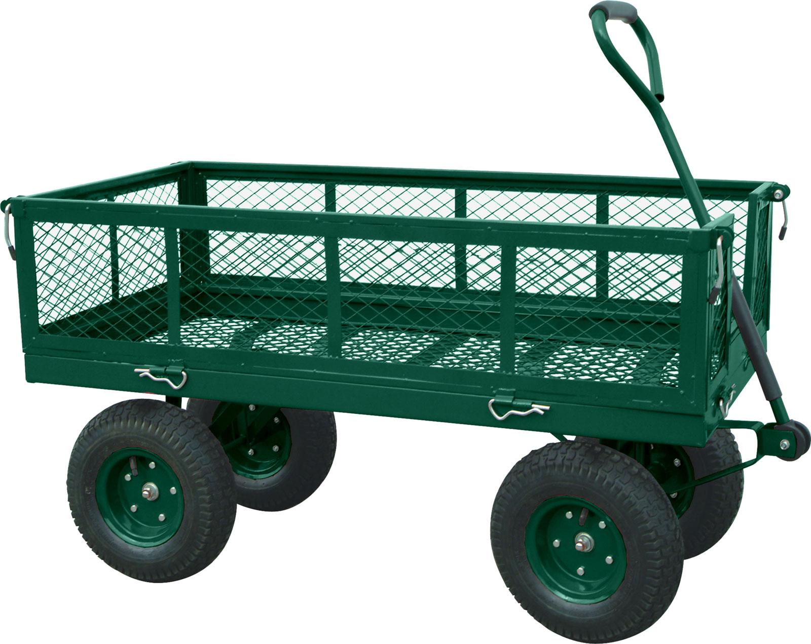 utility garden wagon heavy duty crate wagon
