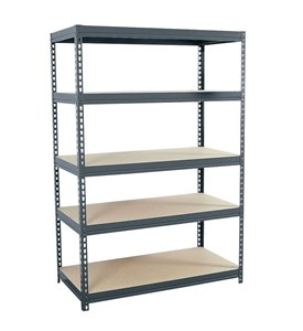 Heavy Duty Steel Shelving - Boltless Image