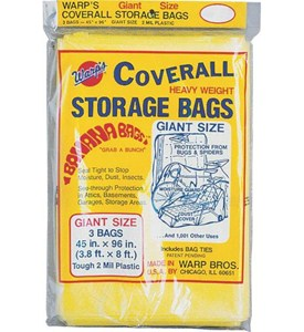 Heavy Weight Plastic Storage Bags - Giant (Set of 3) Image