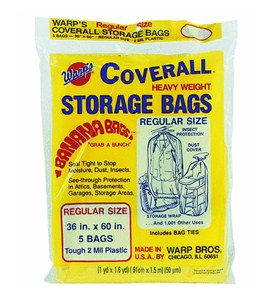 Heavy Weight Plastic Storage Bags - Regular Image