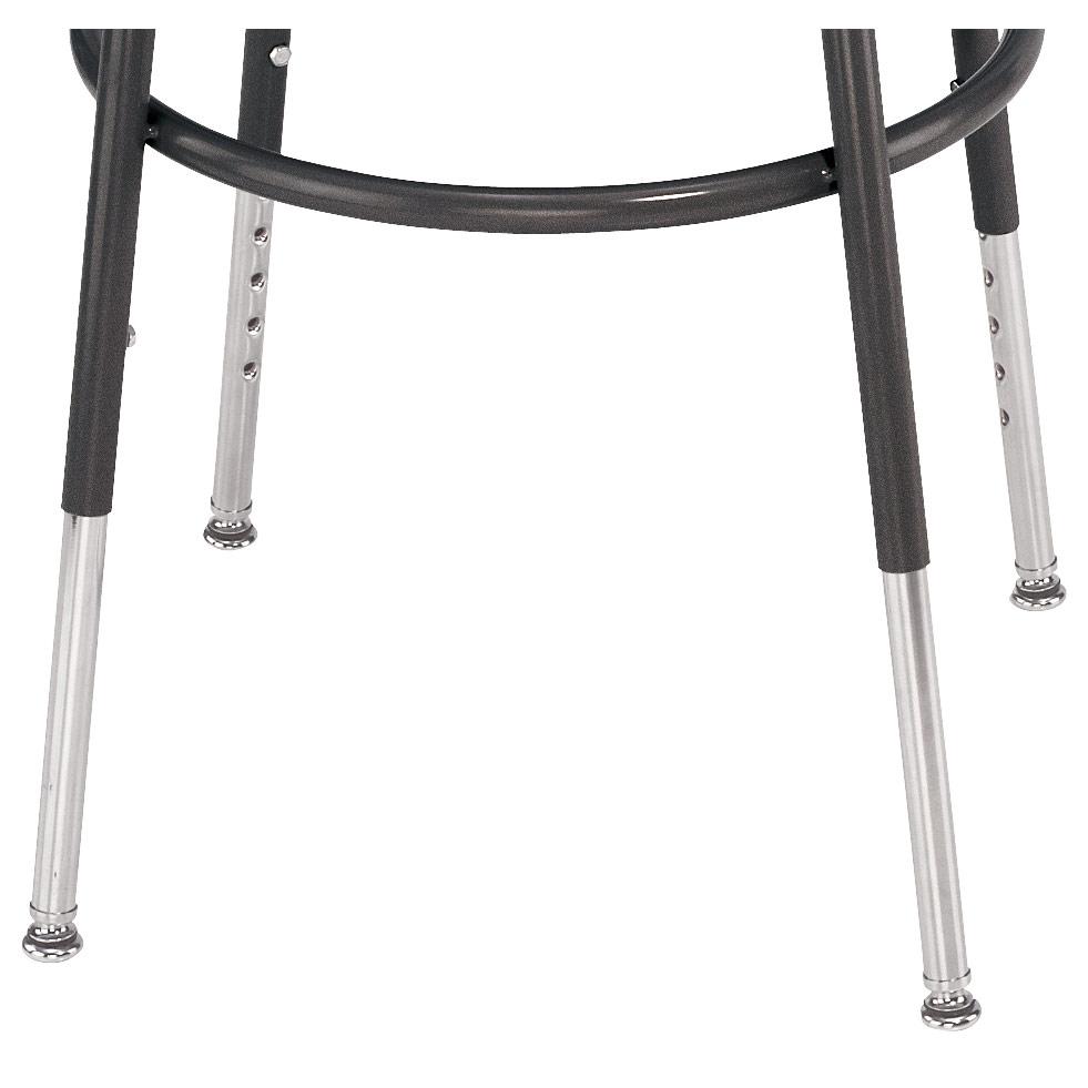 Height Adjustable Stool Legs Set Of 4 In Office Stools