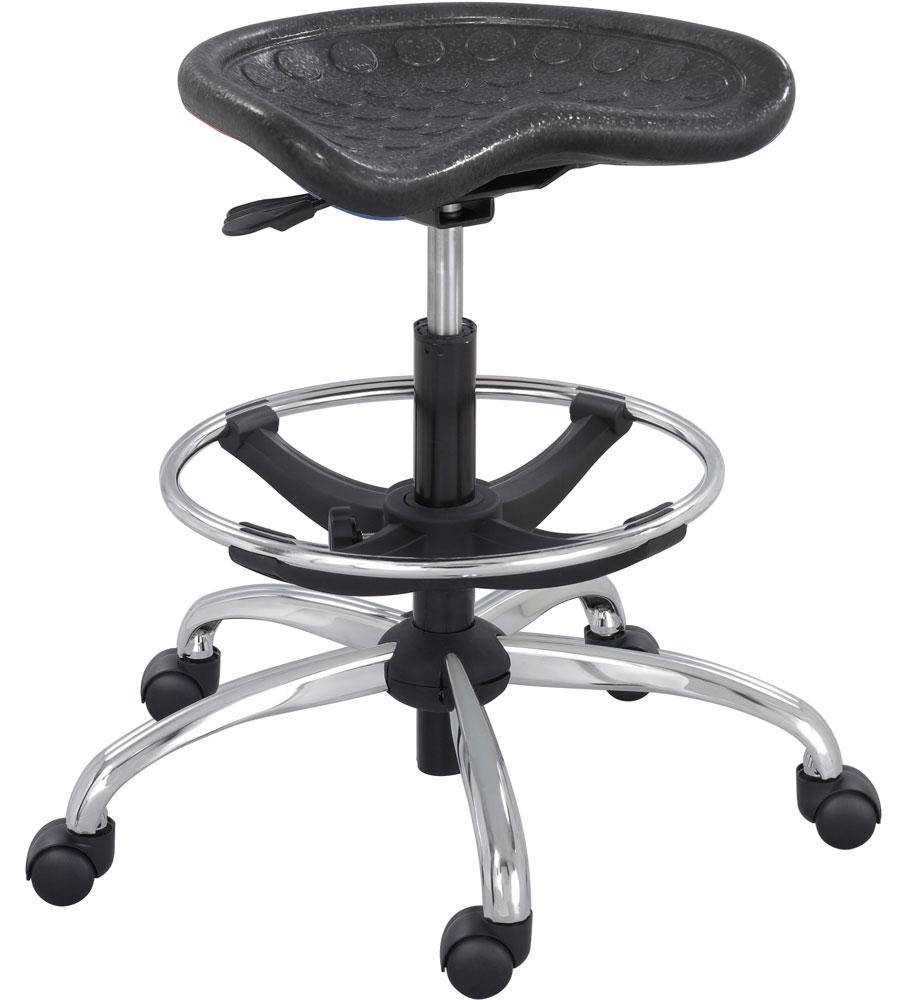 height adjustable stool in office stools. Black Bedroom Furniture Sets. Home Design Ideas